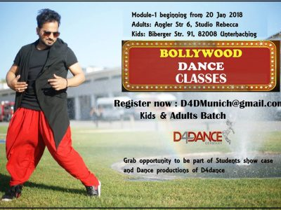 Bollywood Dance Classes in Munich for Adults and Kids