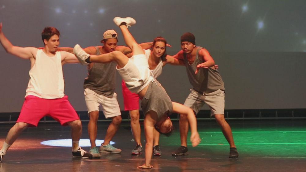 Udaan Bollywood Musical - breakdance