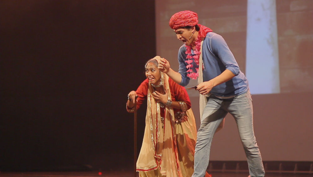 Udaan Bollywood Musical - male Hero and grandmother
