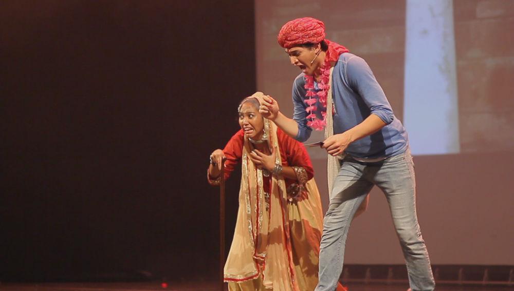 Udaan Bollywood Musical - male Hero and grandmother